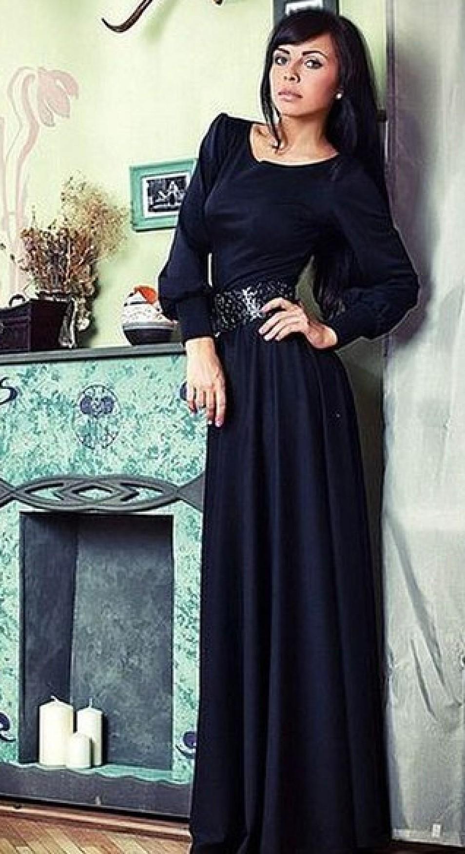 76b94672821 Черные платья - Раделия. Магазин женской одежды