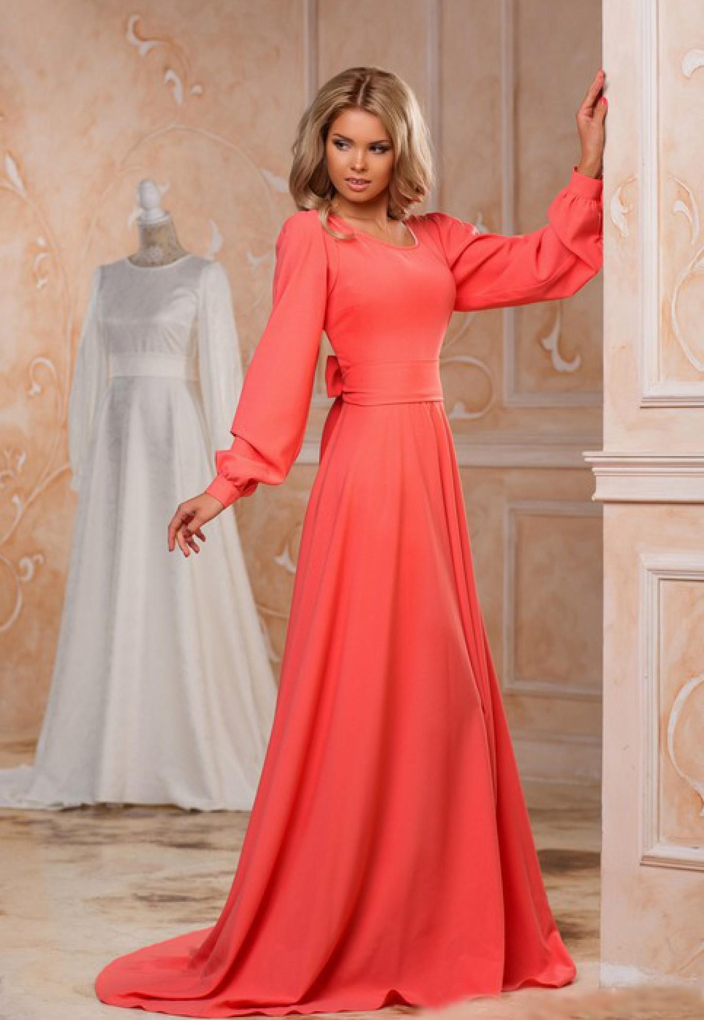 e748598e35992ce Купить вечернее длинное платье с открытой спиной. Пошив дизайнерского платья  на заказ. Интернет магазин женской одежды Радэлия