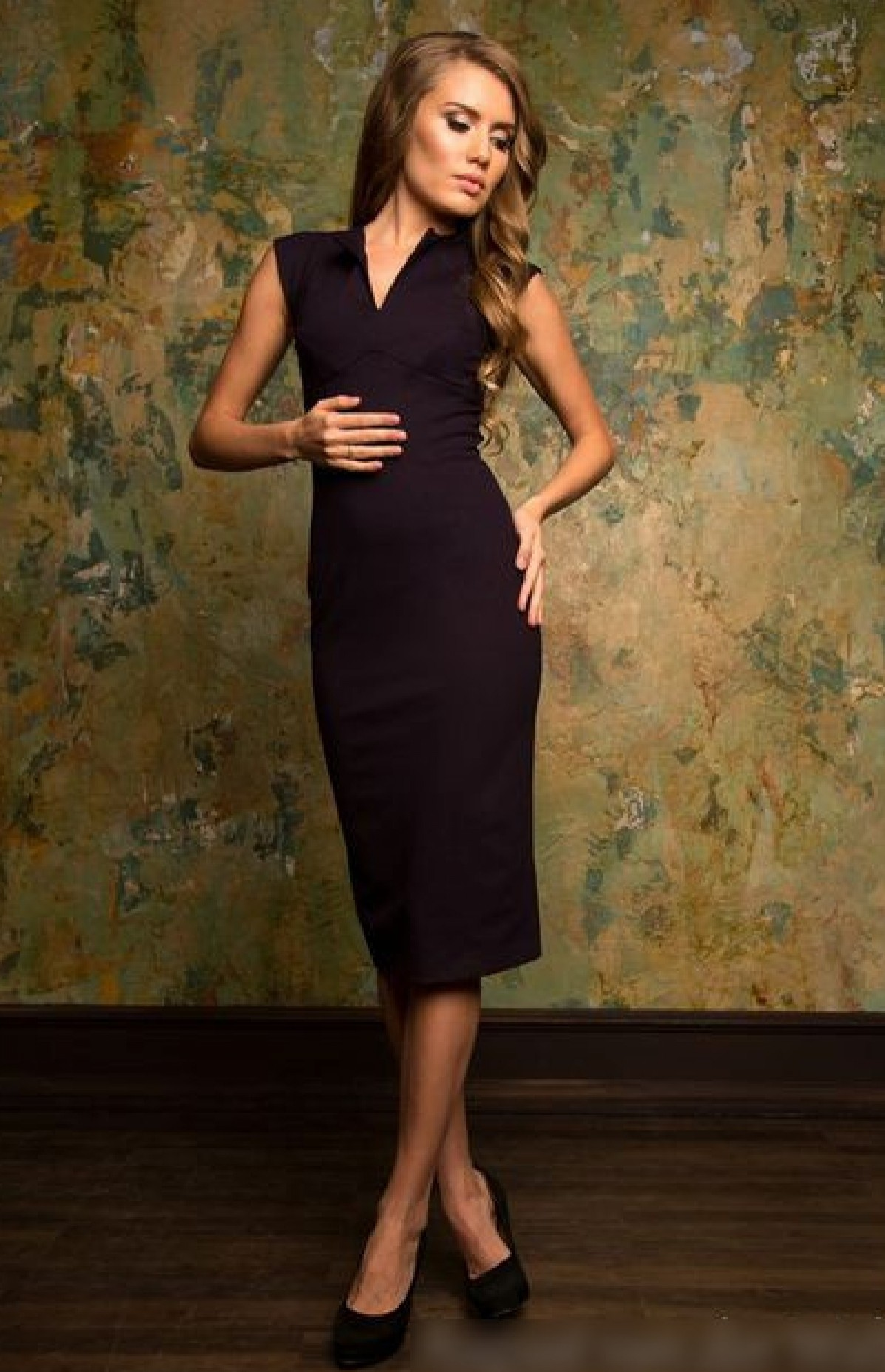 702cca913a9ce9c Купить или заказать строгое деловое платье. Офисные платья в интернет  магазине Радэлия.