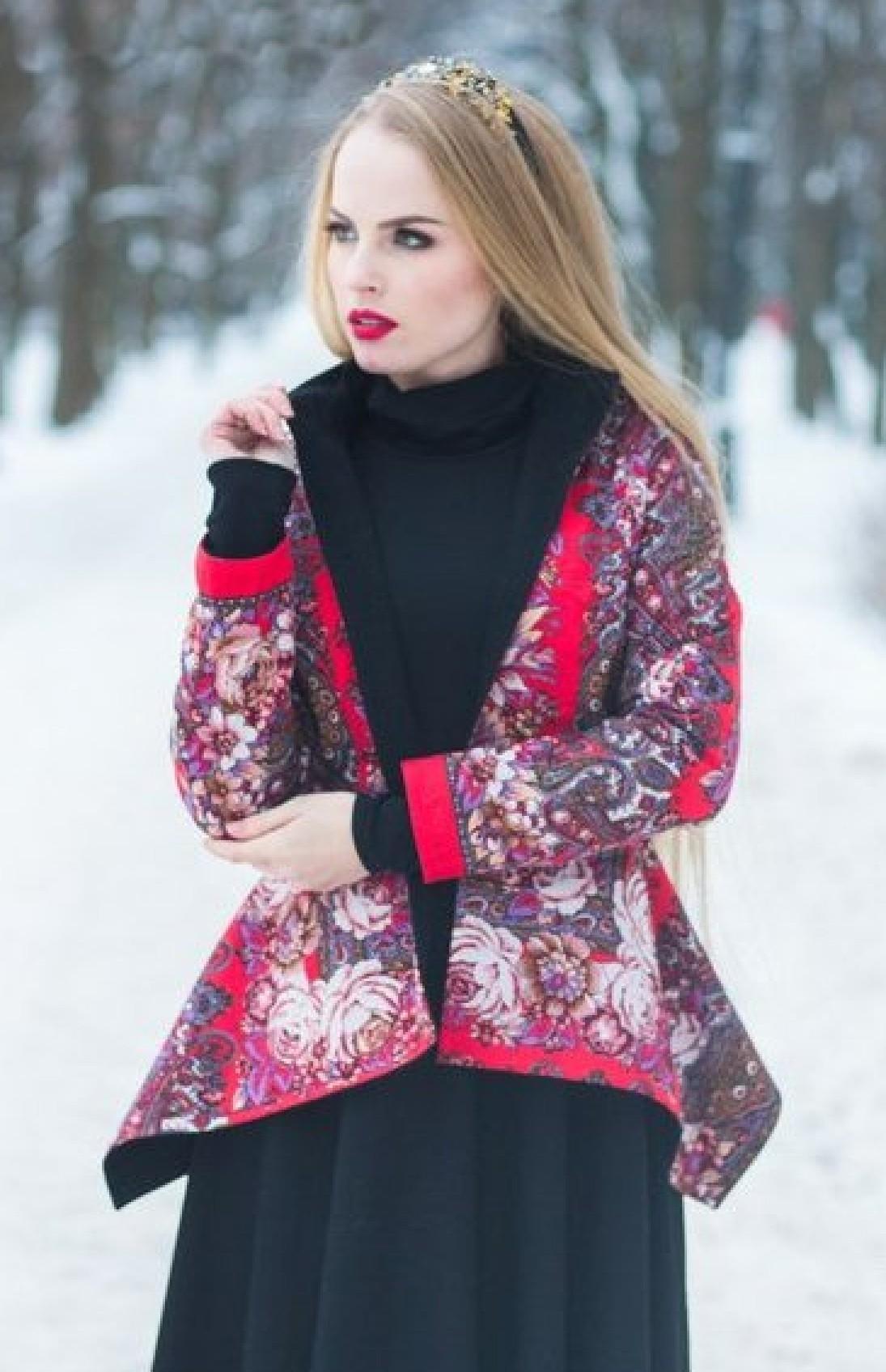 Купить Куртку Из Павлопосадских Платков Спб