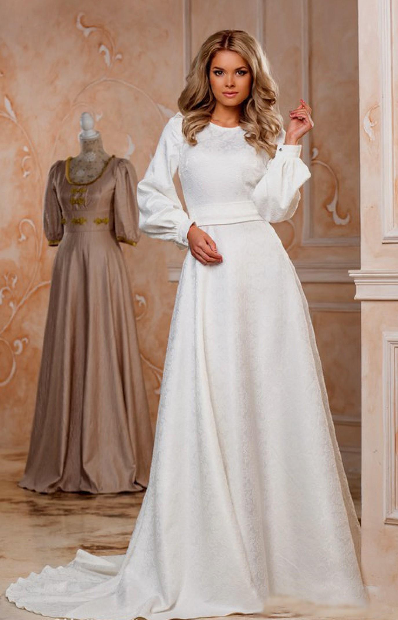 платье белое в пол фото